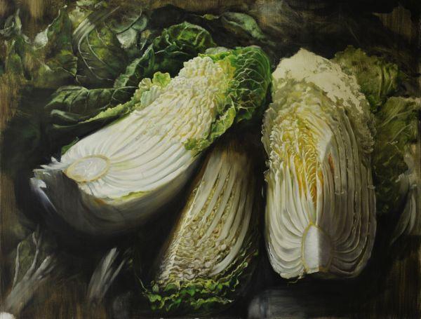 Cabagge, Oil, 125 x 95 cm