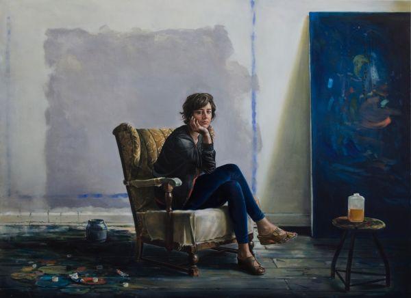 Jasmin, Oil, 250 x 170 cm