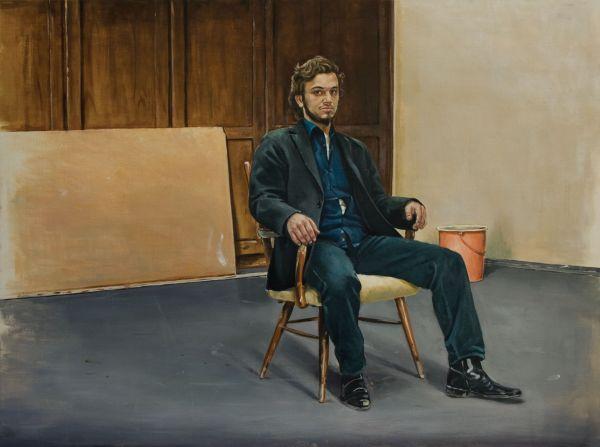 Dimitrij, Oil, 200 x 160 cm