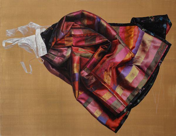 Sonae´s chima, Oil, 180 x 140 cm
