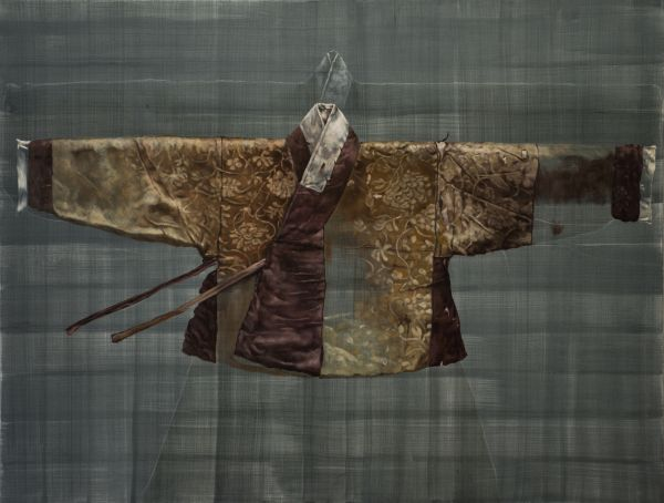 Torn Hanbok, Oil, 170 x 130 cm