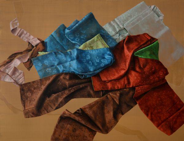 Samchon´s Hanbok, Oil, 170 x 130 cm